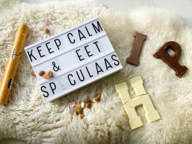 54 x leuke sinterklaas quotes voor je lightbox of letterbord keep calm en eet speculaas