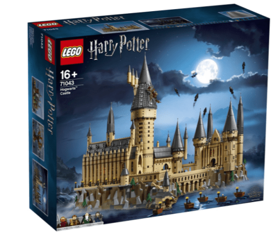 Harry Potter kasteel lego