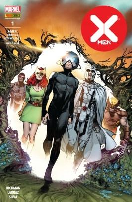 Edição de X-Men #1 de Jonathan Hickman pela Panini Comics.