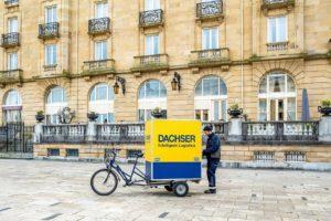 Dachser Ibéria usa bicicletas elétricas na última milha Fpnte: Hiper Super PT
