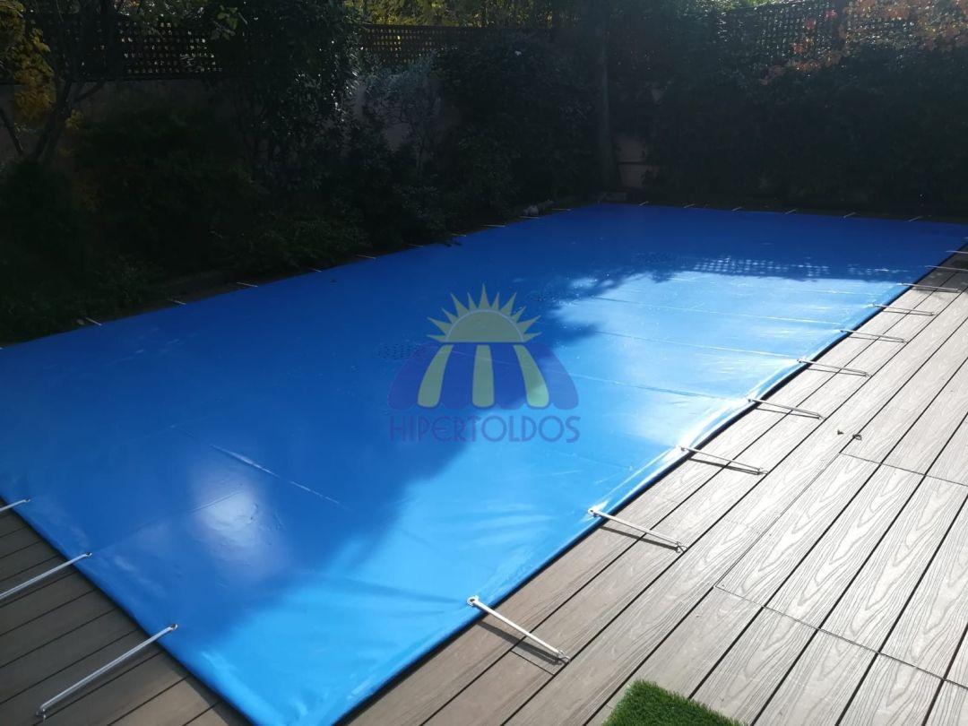 cobertores de piscina de invierno y verano