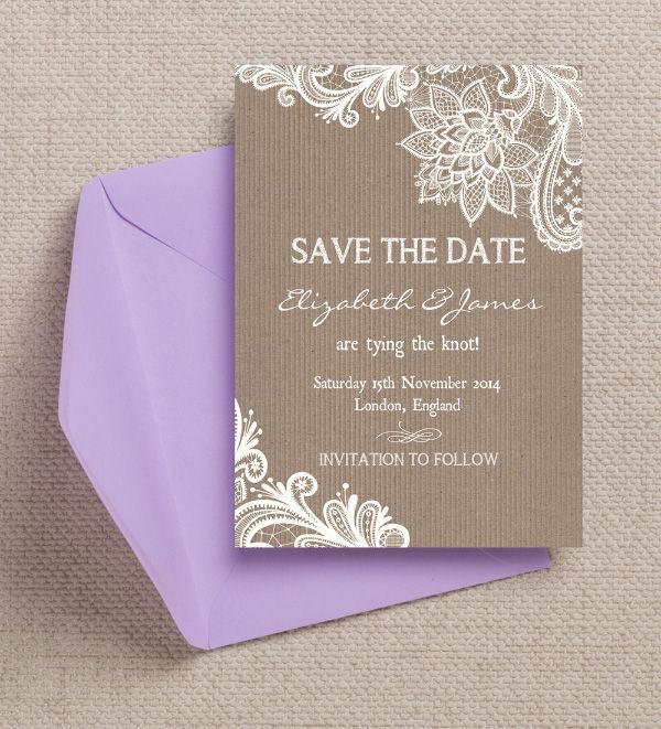 Top 20 Printable Wedding Save The Date Templates