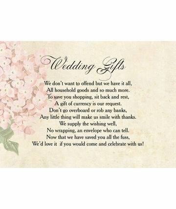 Wording For Wedding Gift Thank You Cards CashWedding Invitation ...