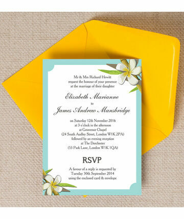 Tropical Beach Wedding Invitation 12 00 From 1 This Geous Our C
