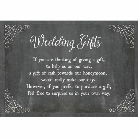 Poems For Wedding Invitations Gift List - Wedding Invitation Sample