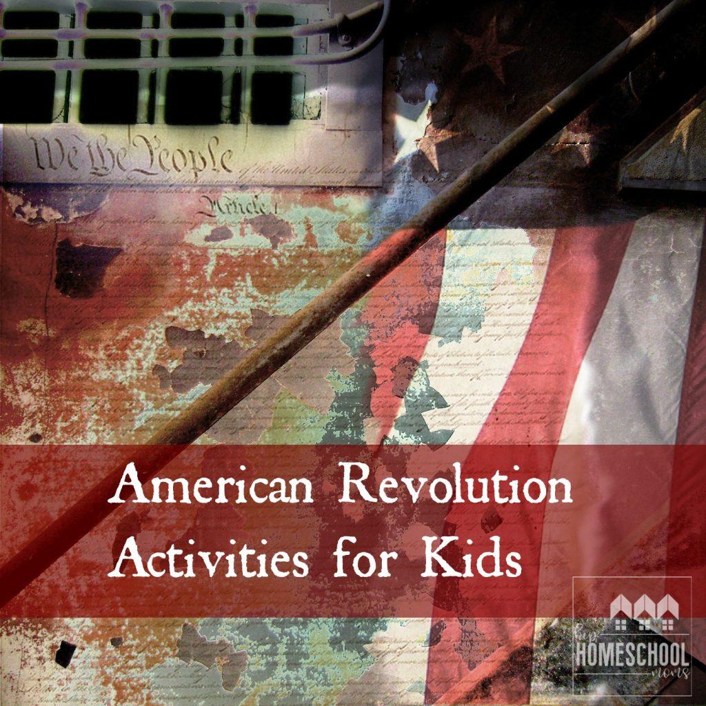 American Revolution Activities For Kids