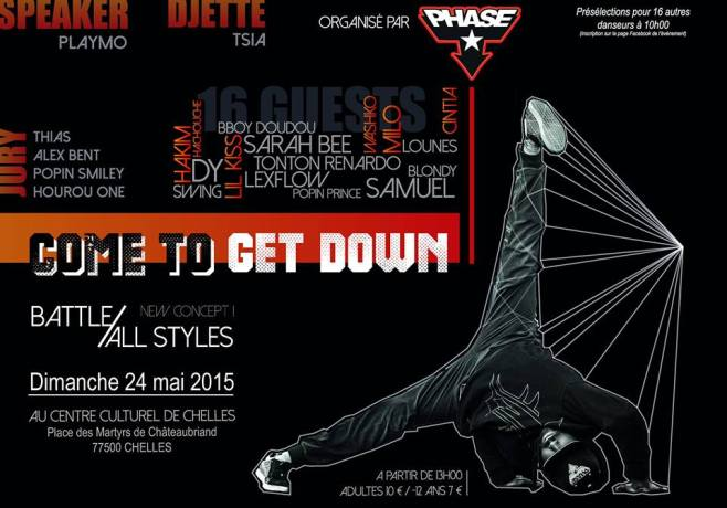 Battle COME TO GET DOWN 2015 (ALL STYLES)