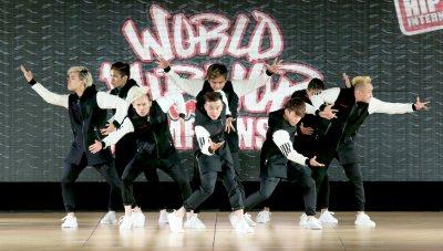 An image of hip hop dancers dancing