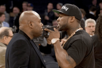 Steve Stoute ran into Fif at at Knicks game recently, but are we sure this wasn't by design?