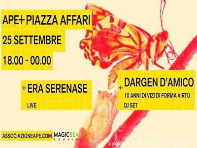 Dargen D'Amico @ Piazza Affari (Milano)