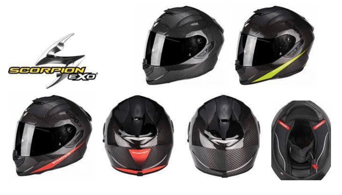 Scorpion EXO 1400 Air Carbon:  il casco in cabonio