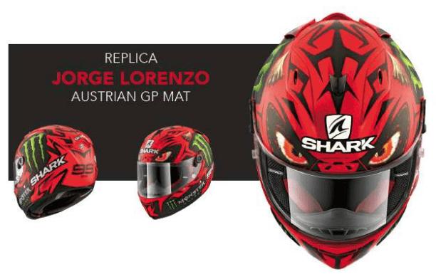 Shark Race-R Pro Replica Lorenzo: un casco tecnologicamente avanzato