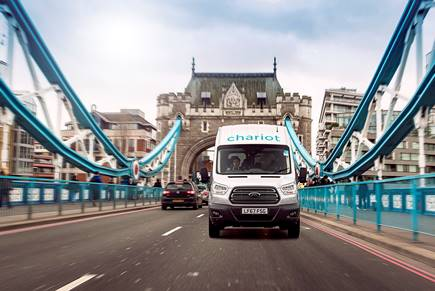 Ford Chariot: il lancio a Londra
