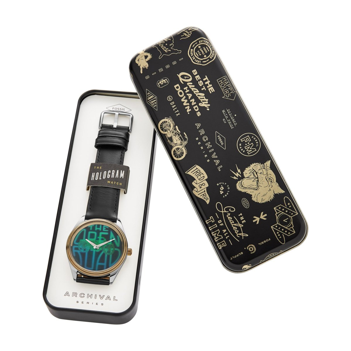 Fossil Hologram Watch, edizione limitata per la Archival Series