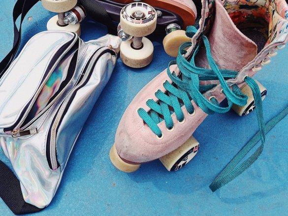 Roller skating Wiko