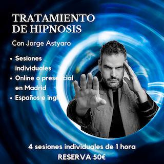 reserva tu sesión hipnosis - Hipnosis Aplicada - Jorge Astyaro