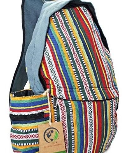 8b656e176dc9e Mato Sling Bag Backpack Boho Bohemian Tribal Aztec Baja Pattern One  Shoulder Daypack