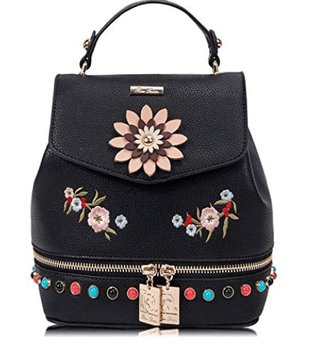 c600b69a57db4 RenDian Women s Mini Fashion Backpack Purse Small Backpack Purse for Women  Anti Theft Leather Shoulder Bags …