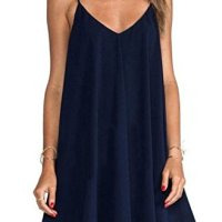 PAKULA® Summer Sexy Women Sleeveless Party Dress Casual Mini Dress