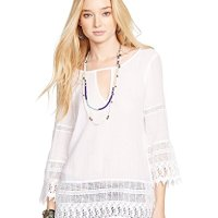 Denim & Supply Ralph Lauren Crochet-Hem Tunic