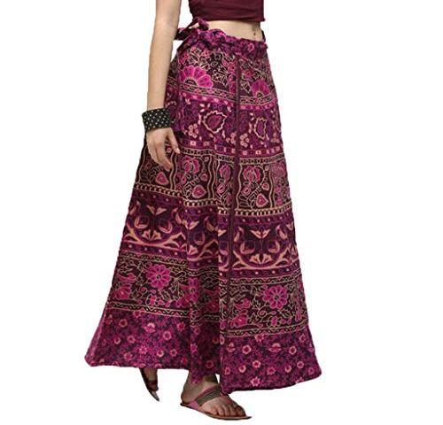 1bf440e3c330 Lcoco&Dream Women's Bohemian Vintage Print A Line Long Maxi Skirt Hippie  Boho Dresses Drawstring Waist Adjustable