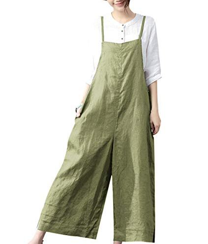FEISI22 Womens Overall Shorts,Baggy Wide Leg Overalls Jumpsuit Harem Pants Casual Rompers Classic Bib Overalls Shorts