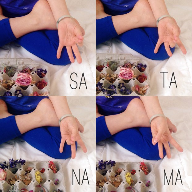Sa Ta Na Ma meditation: hand positions and sounds