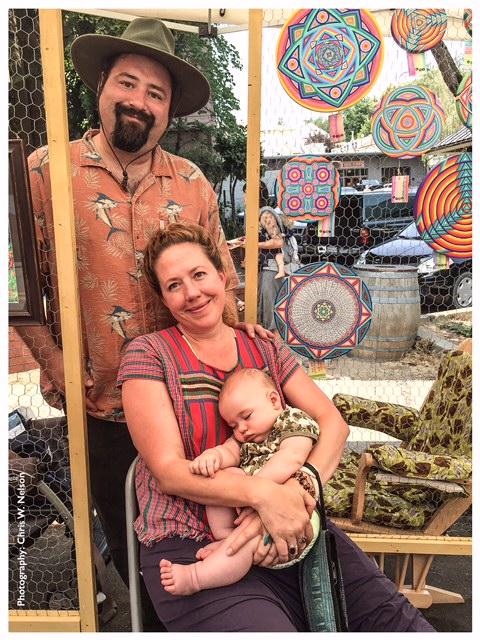 at the Farmers Market Kara Rane Cosmic Circles