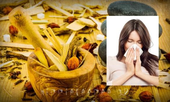 Φυσική θεραπεία για τον Βήχα, την Βρογχίτιδα και την Λαρυγγίτιδα
