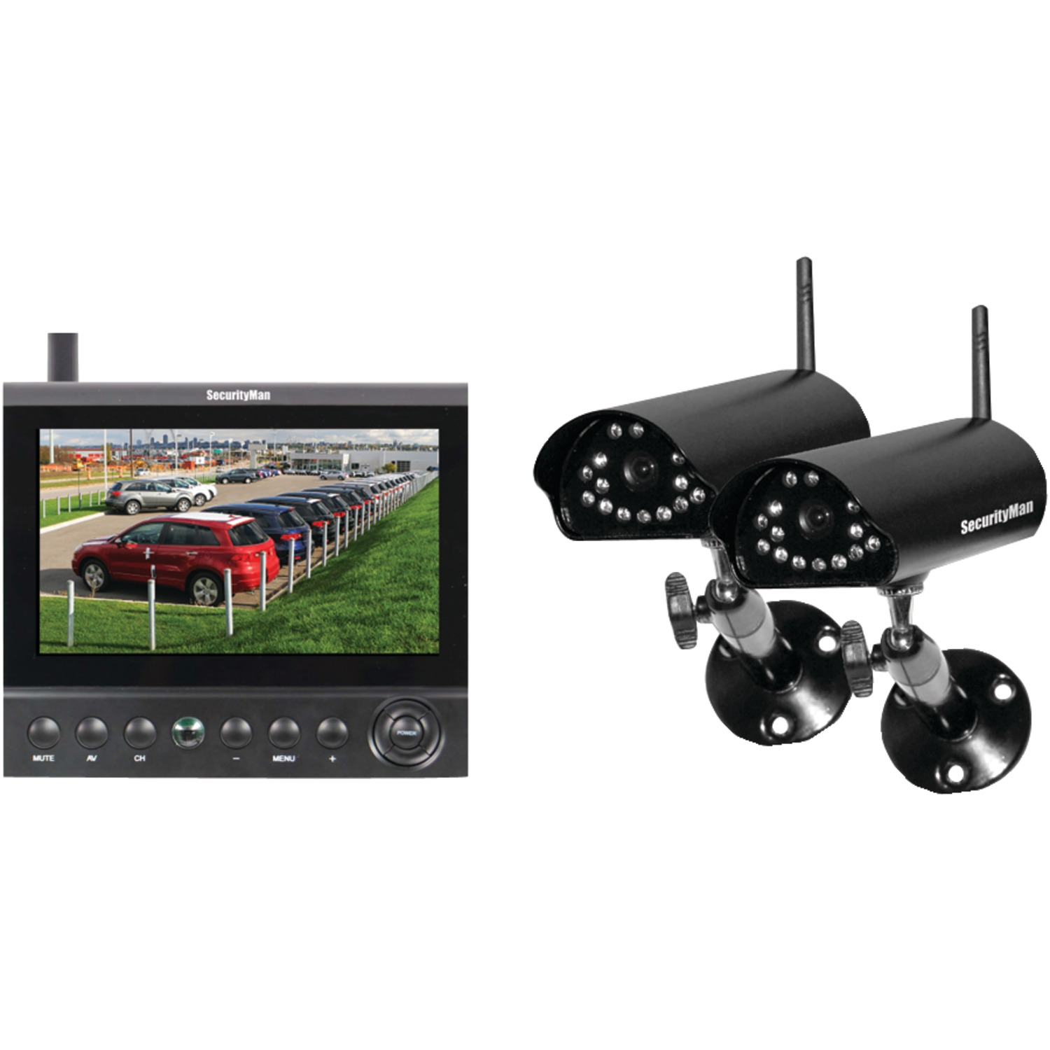Cordless Wireless Security Camera System