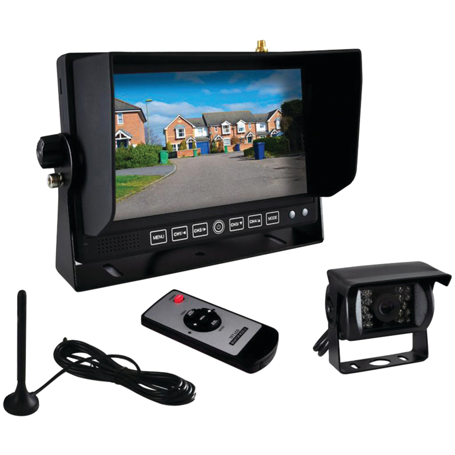 Wireless Camera And Monitor System