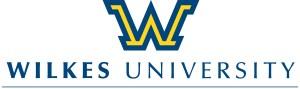 wilkes u logo 'w' with name under