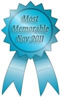 most memorable ribbon november 2011
