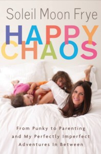 Happy Chaos Covern featuring soilel moon frye and her two girls on a bed
