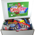 candy bar box from blair candy