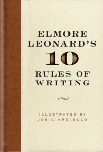 cover of 10 Rules of Writing