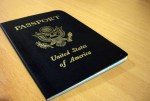 us passport on desk