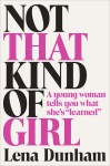 lena-dunham-book cover not that kind of girl