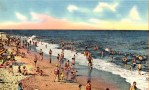 old postcard of long beach ny