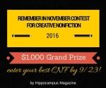 2016 contest details 1000 prize deadline 9/23/2016