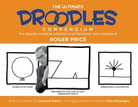 droodles cover - square book - author with a few cels of doodles