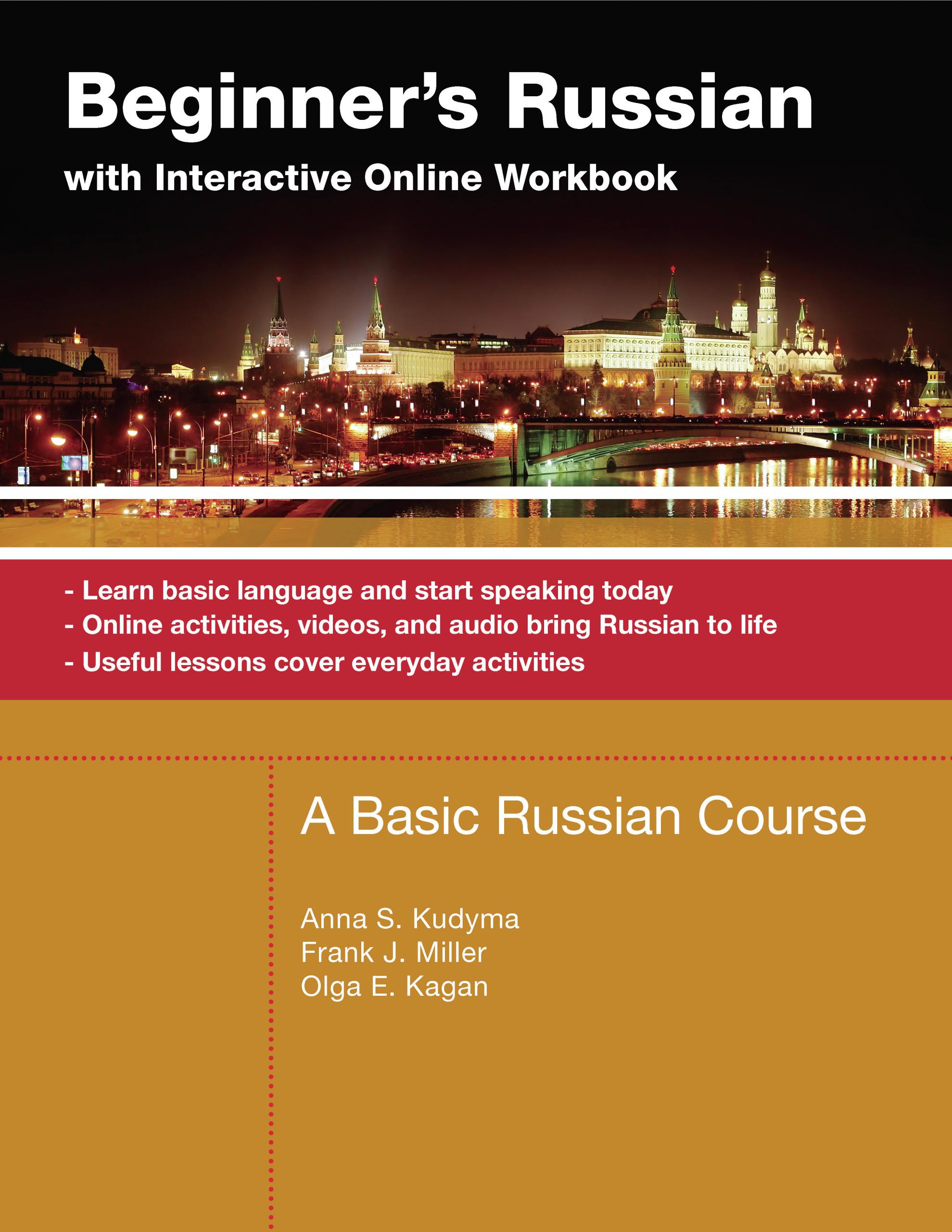 Beginner S Russian With Interactive Online Workbook Offers