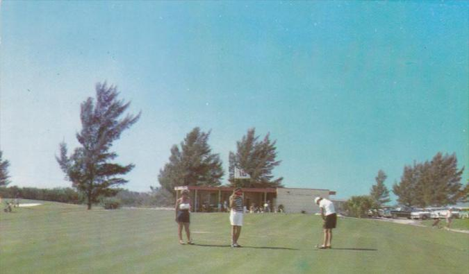 VENICE  Florida  PU 1960 s  Lake Venice Golf Club  U S  41   HipPostcard VENICE  Florida  PU 1960 s  Lake Venice Golf Club  U S  41