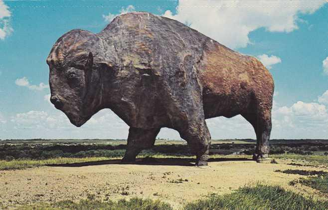 Statue Milby Buffaloes