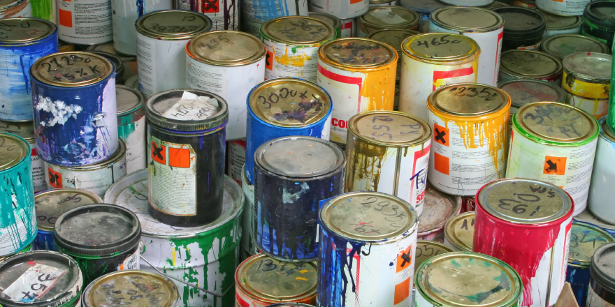 Paint disposal safety