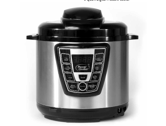 tristar power cooker electric pressure cooker manual & quick start