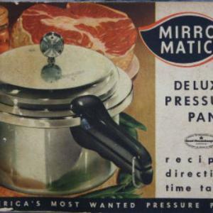 Mirro-Matic Vintage Pressure Pan II Instruction Manual & Recipes