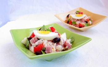 Pressure Cooker Recipe: Insalata di Riso - Italian Rice Salad
