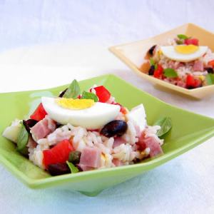 Pressure Cooker Recipe: Insalata di Riso - Italian Rice Salad