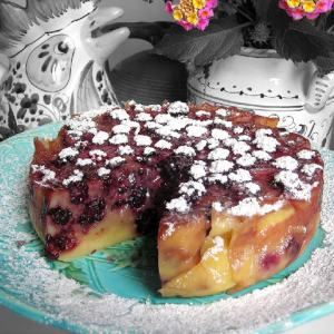 Fruit Clafoutis – When You Don't Have a Bowl of Cherries